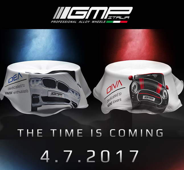 GMP Italia annuncia i nuovi design: DEA e DIVA stanno arrivando!