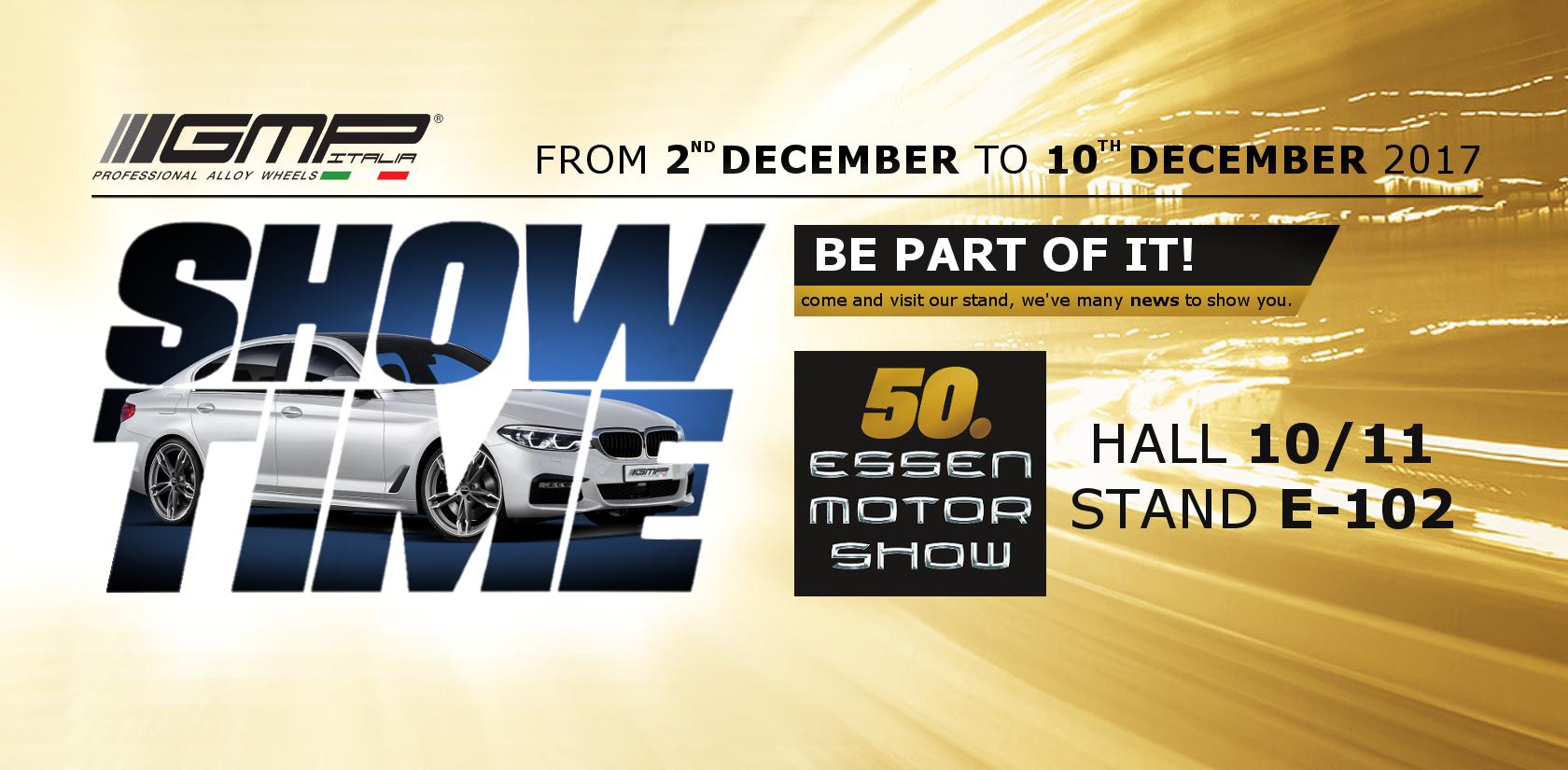 GMP ti aspetta ad Essen Motorshow 2017!