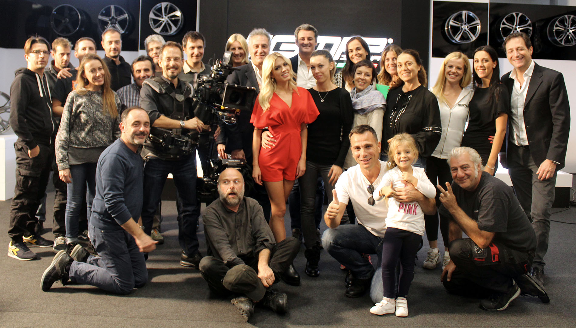 A special thanks to Ludovica Pagani, Max Temporali and Mediaset!