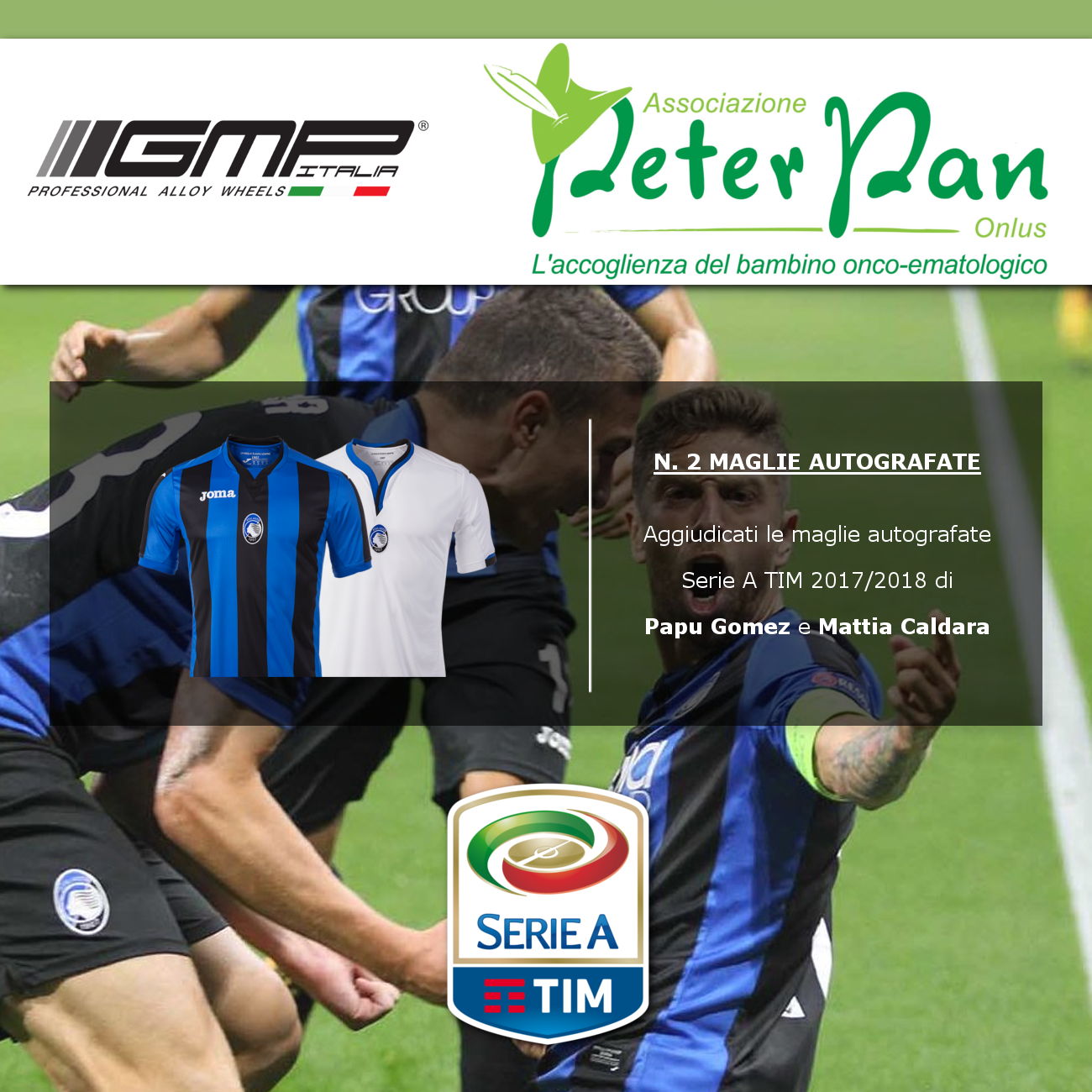 Get the signed kits of Papu Gomez and Mattia Caldara now!