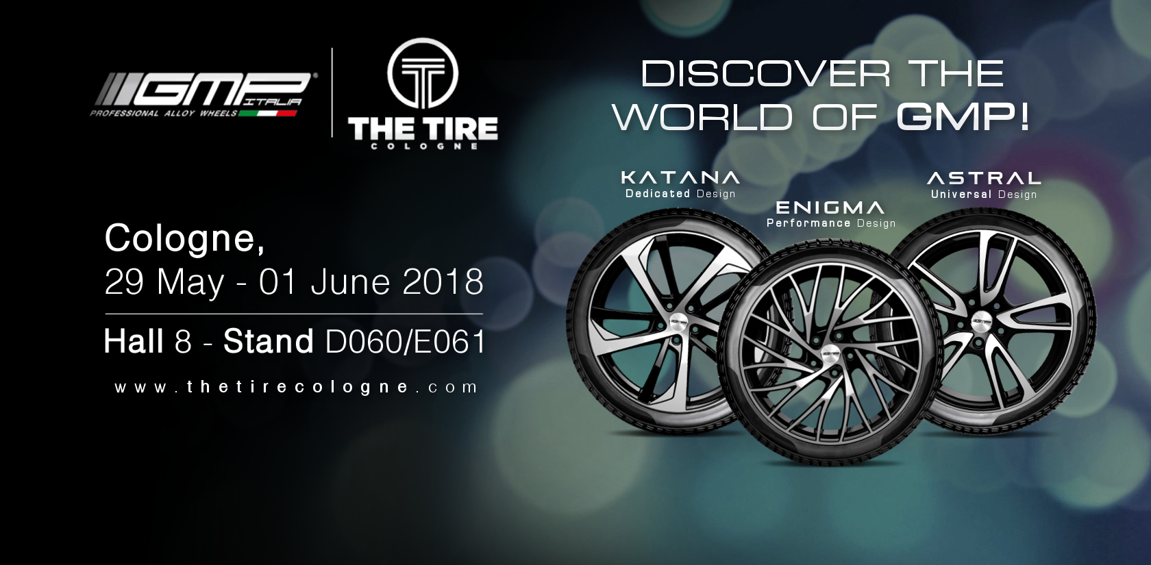 GMP Group sarà presente a TIRE COLOGNE 2018!