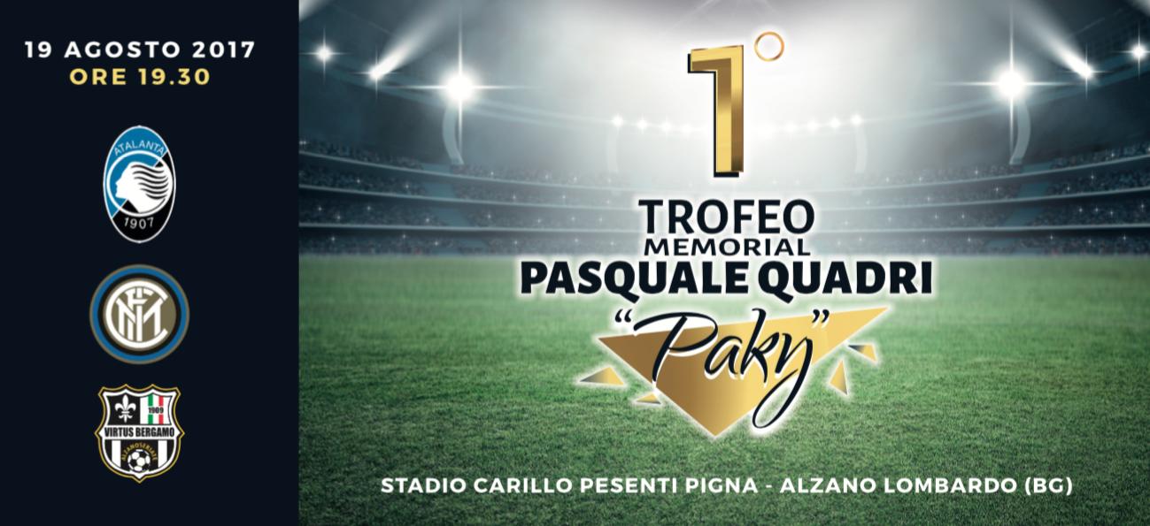 """GMP è Main sponsor del 1° Trofeo Memorial Pasquale Quadri """"Paky"""""""