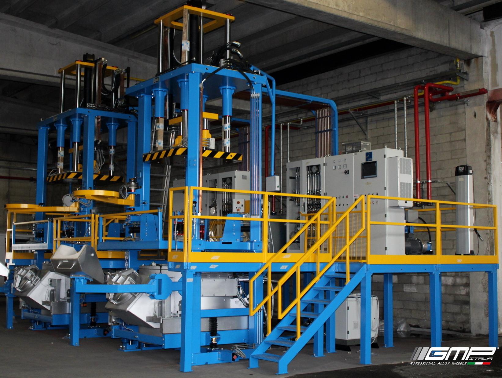 Nuovo impianto di fusione con trattamento in bassa pressione