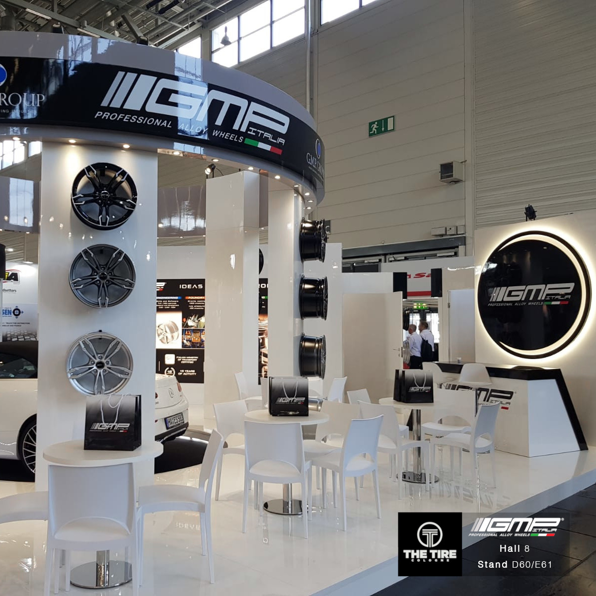 GMP Italia Stand at The Tire Cologne 2018!
