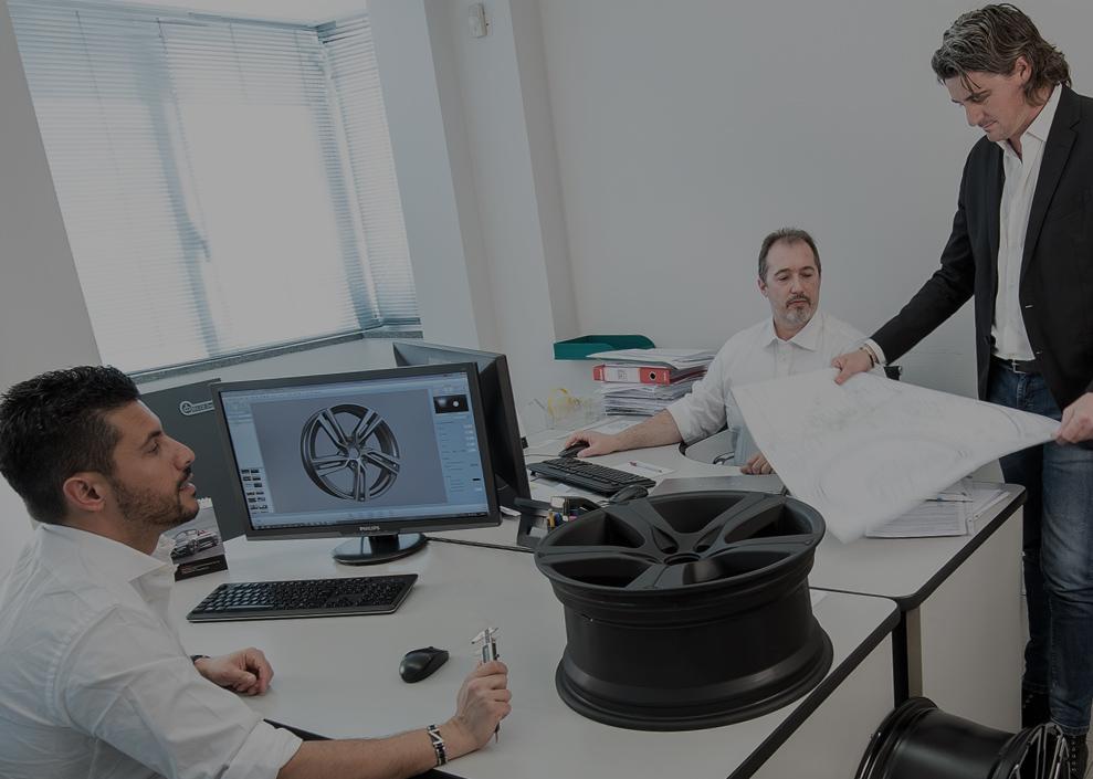 Software di simulazione, calcoli Fem, sistemi di modellazione in linea col reparto produttivo.